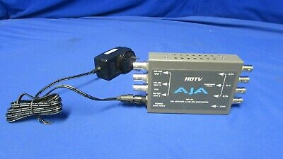 AJA HD10A HD Analog to HD-SDI Converter w/ power supply