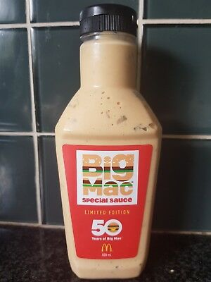 McDonald's Big Mac Sauce - 500ml Limited Edition - (Only 100,000 made)