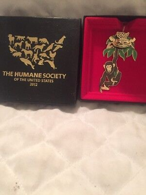 Rare 2012 HUMANE SOCIETY Of The United States Christmas Ornament