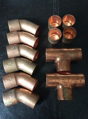 copper fittings 3/4