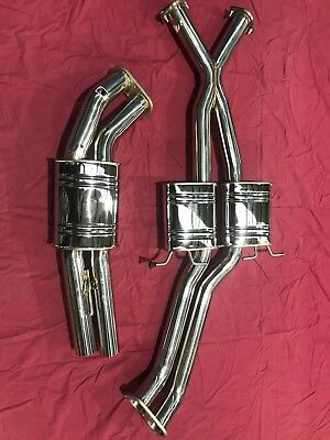 "Holden Commodore vt-vz ss sedan 1997-2006 TWIN 3"" STAINLESS STEEL SYSTEM."