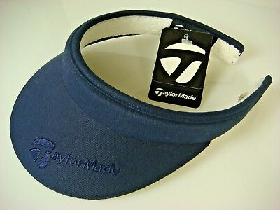 e12e6263945 New With Tags Taylor Made Ladies Split Clip Navy Blue Golf Visor