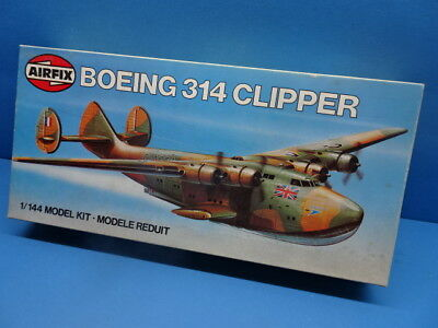 """1/144 Airfix (1980):  Flying Boat Boeing 314 """"Clipper"""" (militär, Camouflage)"""