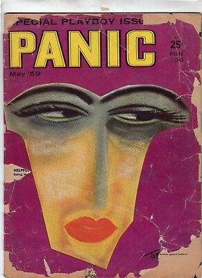"""Panic Magazine #5 (Vol 1, No 5) May 1959  """"Special Playboy Issue"""""""