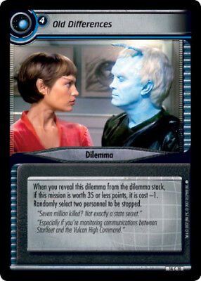 The New Occupation What you Leave Behind STCCG Decipher Star Trek 2E Ungraded