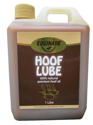 Equinade Hoof Lube 500ml to 2.5L natural brush on oil care health horse equine