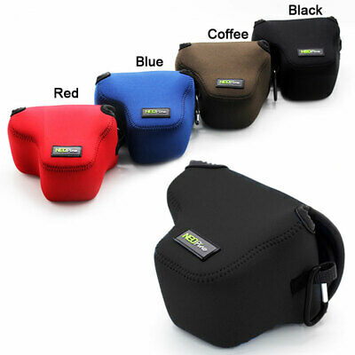Neoprene Soft Camera protect case bag for Canon EOS M50 With 15-45mm Lens