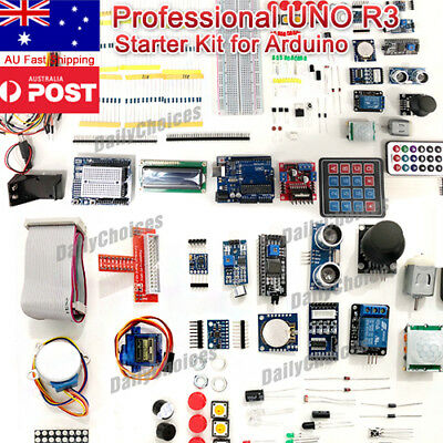 Professional UNO R3 Start Kit for Arduino LCD DIY AU Shipping