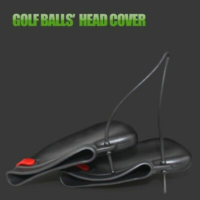 9 X Padded Golf Club Iron Head Cover Protector Case Sock Set Rubber PVC