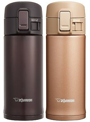 ZOJIRUSHI Stainless Steel One Touch Open Mug 360ml Bottle SM-KC 36 VD NM