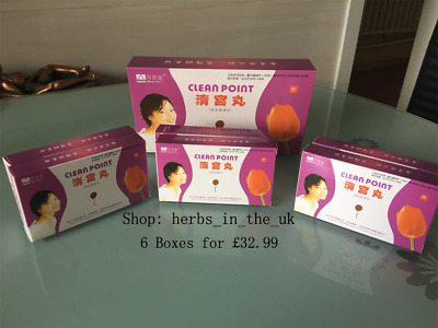 6 boxes Chinese herbal Tampon for Women(Clean Point Tampons) 100% original