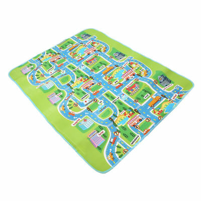Kids Crawling Educational Baby Play Mat Picnic Car City Game Soft Foam Carpet