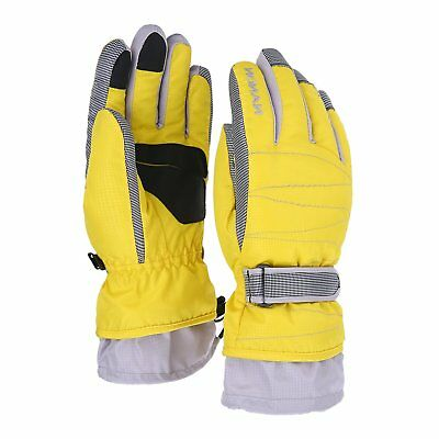 Ski Gloves Waterproof Snowboard Snowmobile Motorcycle Riding Gloves Windproof