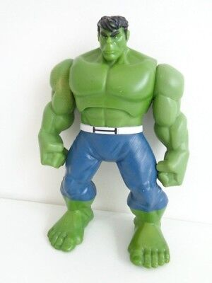 "INCREDIBLE HULK TOY - SHAKE 'N' SMASH 9"" ACTION FIGURE with SOUNDS - HASBRO 2013"