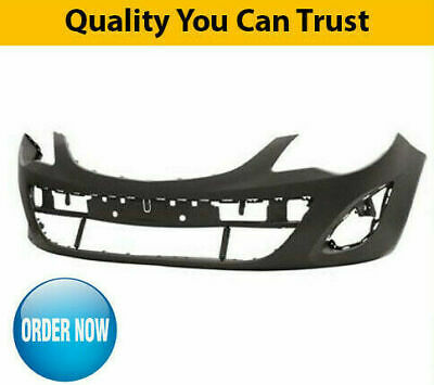 2011-2014 Vauxhall Corsa D Front Bumper Primed New Collection Only