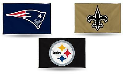 "NFL Banner Flag 3' x 5' (36"" x 60"") ~ All Football NFL Teams! New"
