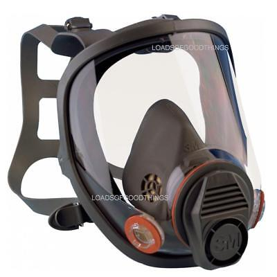 3M 8600 Face Mask Respirator Full Safety Shield Filter Dust Spray Paint Impact