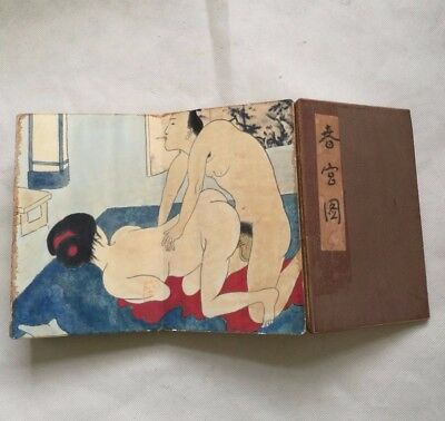 antique Ancient Chinese sex culture representative collections of books.
