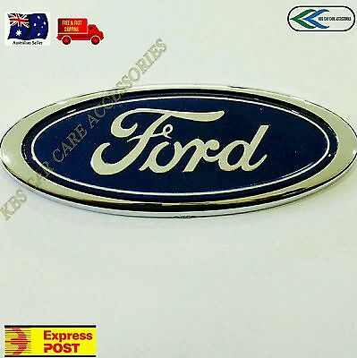 FORD REAR BADGE 115mm X 45mm For FORD FALCON BA BF XR6 XR8