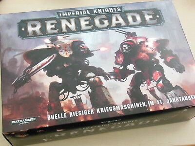 Warhammer 40k Imperial Knights Renegade *Neu* *Deutsch*