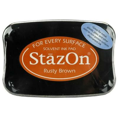 RUSTY BROWN - StazOn Solvent Ink Pad