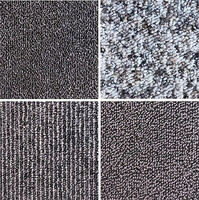 Quality Carpet Tiles Grey 5m2 Office Home Garage Retail Shop A Grade New