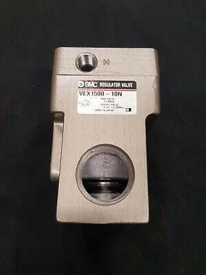 "SMC VEX1500-10N Regulator Valve 1"" 1 1/4"" NPT 0.05 - 0.9MPa VEX1"