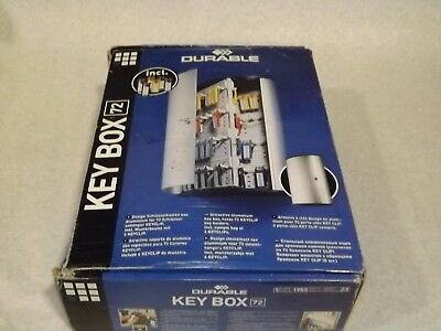 Durable Key Box 72 1955 23 - Attractive Aluminum Key Box Holds 72 keys