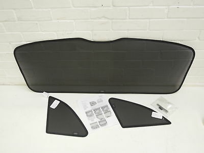 Audi Q5 Rear Tailgate and Side Window Sun Blind Set Genuine New 8R0064160