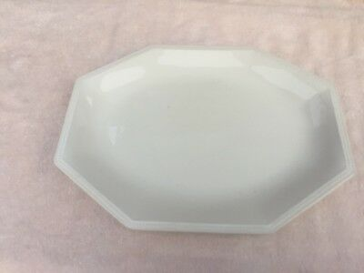 JOHNSON BROTHERS china HERITAGE WHITE Made in England Oval Serving ...