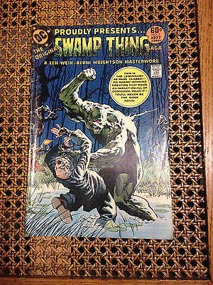 Vintage DC Comic Book The Original Swamp Thing No. 1 1977