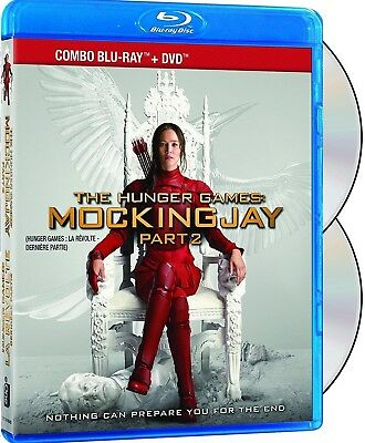 The Hunger Games: Mockingjay Part 2 - With Slipcover *new Blu-Ray+Dvd*