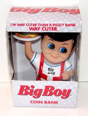 2013 Big Boy Coin Bank New In Box Bobs Big Boy WITH FREE FAST SHIPPING! NICE!