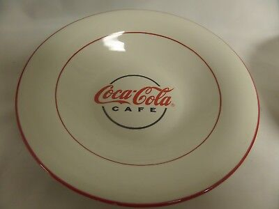 Lot Of 7 Pc Gibson Coca Cola Cafe 5 Plates 2 Bowls