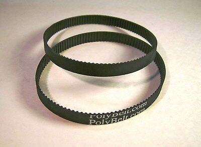 2 Ryobi BS901 Band Saw Replacement Toothed Motor Drive Belts USA FREE SHIPPING