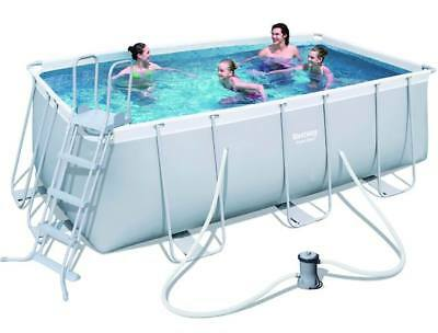 Piscina Bestway Power Steel 56456 Rettangolare 412X201 Cm