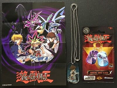 Yu-Gi-Oh! New Official Grinstudios Series 1 Metal Dog Tags Seto Kaiba