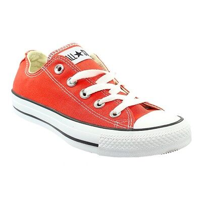 c4d0cba7dc44 Converse All Star Lace Up Canvas Chuck Taylor OX Low Trainers Shoes Size  Womens
