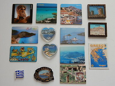 One Selected Souvenir Fridge Magnet from Greece