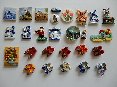 One Selected Souvenir Fridge Magnet from from the Netherlands Holland