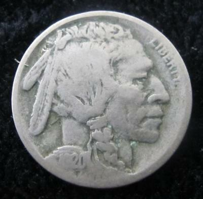 1920 Buffalo Nickel * Clear Date * Almost 100 Years Old!! * Great for a Book!
