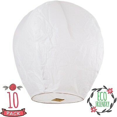 SKY HIGH Coral Entertainments chinese lanterns biodegradable and fully assambele