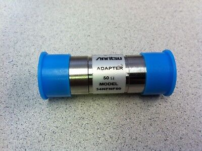 ANRITSU 34NFNF50 Coax Precision Adapter N-Female to N-Female 50Ohm DC to 18 GHz