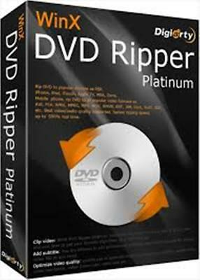Winx DVD Ripper Platinum v8.5.0 with serial Key + Delivery in 5 min