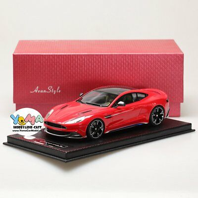 Frontiart AvanStyle 1/18 Aston Martin Vanquish S Red AS018-06