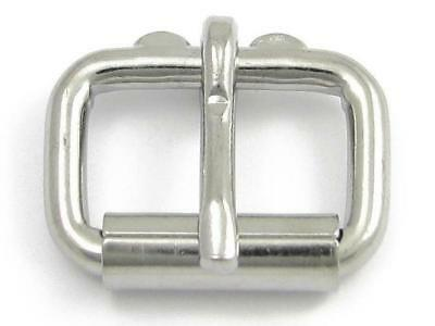 Heavy Duty Roller Buckle 20mm, 25mm or 30mm  - Chrome Plated
