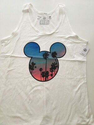 04f992bb712724 New NEFF Men s Mickey Mouse Limit Edition Disney Tank Top Tee Shirt Size  Medium
