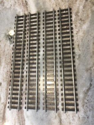 NEW American Flyer S Gauge Straight Track Lot 4 Gilbert 1960s Pike Master