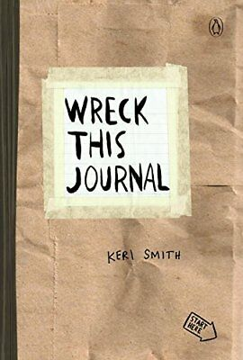 Wreck This Journal by Keri Smith Paper Bag Writing