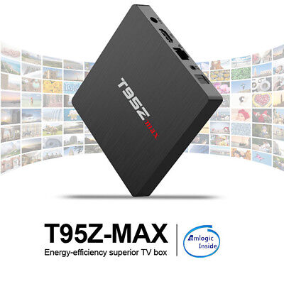 T95Z MAX Smart Android 7.1 TV Box Amlogic S912 Octa-core 2/3GB+16/32GB Receivers